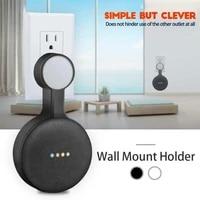 Support mural de sortie  pour Google Home  Mini Assistant vocal  support de maison intelligente  cuisine  chambre a coucher  salle de bains  support Audio