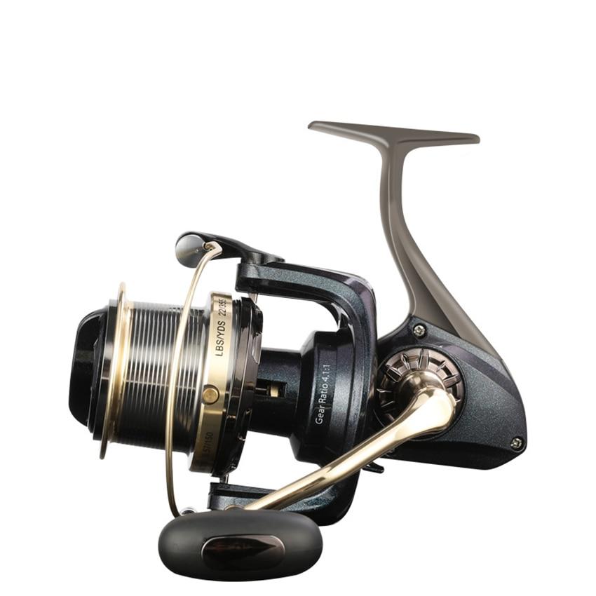 Big Strong Metal Fishing Reel Drag Spinning Reel Carp Carretilha De Pesca Molinete Olta Makaralar Reels Trolling Accesorios Mar enlarge