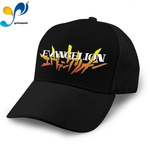 New Fashion 2020 Hat Genesis Evangelion Logo Casquette Unisex Baseball Caps Snapback Gorras Beach Hats