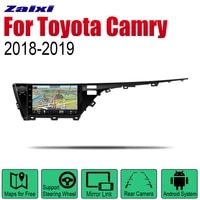 zaixi auto radio 2 din android car player for toyota camry 20182019 gps navigation bt wifi map multimedia system stereo