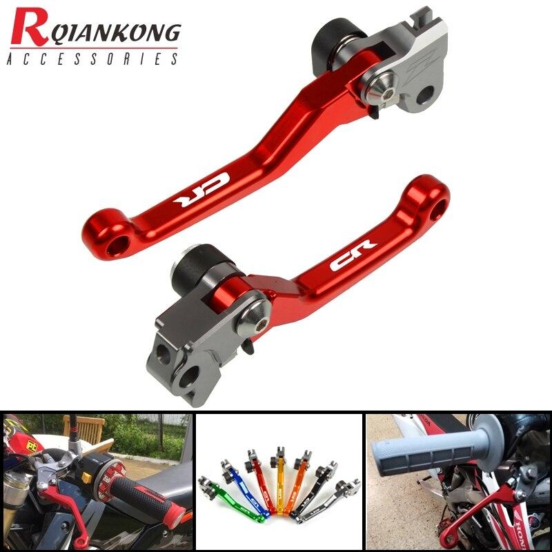 Motorcycle Dirt Bike Brake Clutch Levers Pivot Foldable handle levers For HONDA CR80R CR85R CR125R CR250R CRF150R CRF450R 92-18