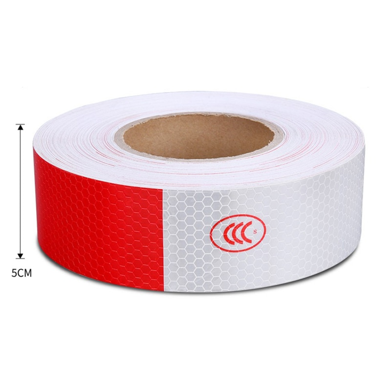 3M Reflective Tape Safety Caution Warning Reflective Adhesive Tape Sticker For Truck Motorcycle Bicycle Car Styling