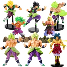 Dragon Ball Z Super Senshi Broly Super Saiyan PVC figurine à collectionner Dragon Ball figurine modèle jouets