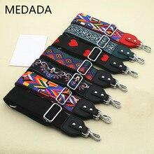 MEDADA  Women's Nylon Cross Body Messenger  Belt For Bag Accessories Bag Strap Handbag Belt Wide Shoulder Bag MD59