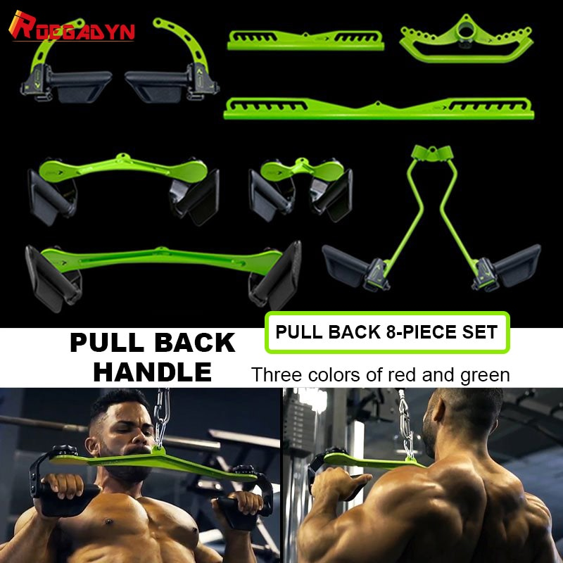 ROEGADYN Fitness Equipment For Home Gym Exercise Pulley Gym Equipment Stretcher Fitness Bodybuilding Equipment Pull Back Muscle