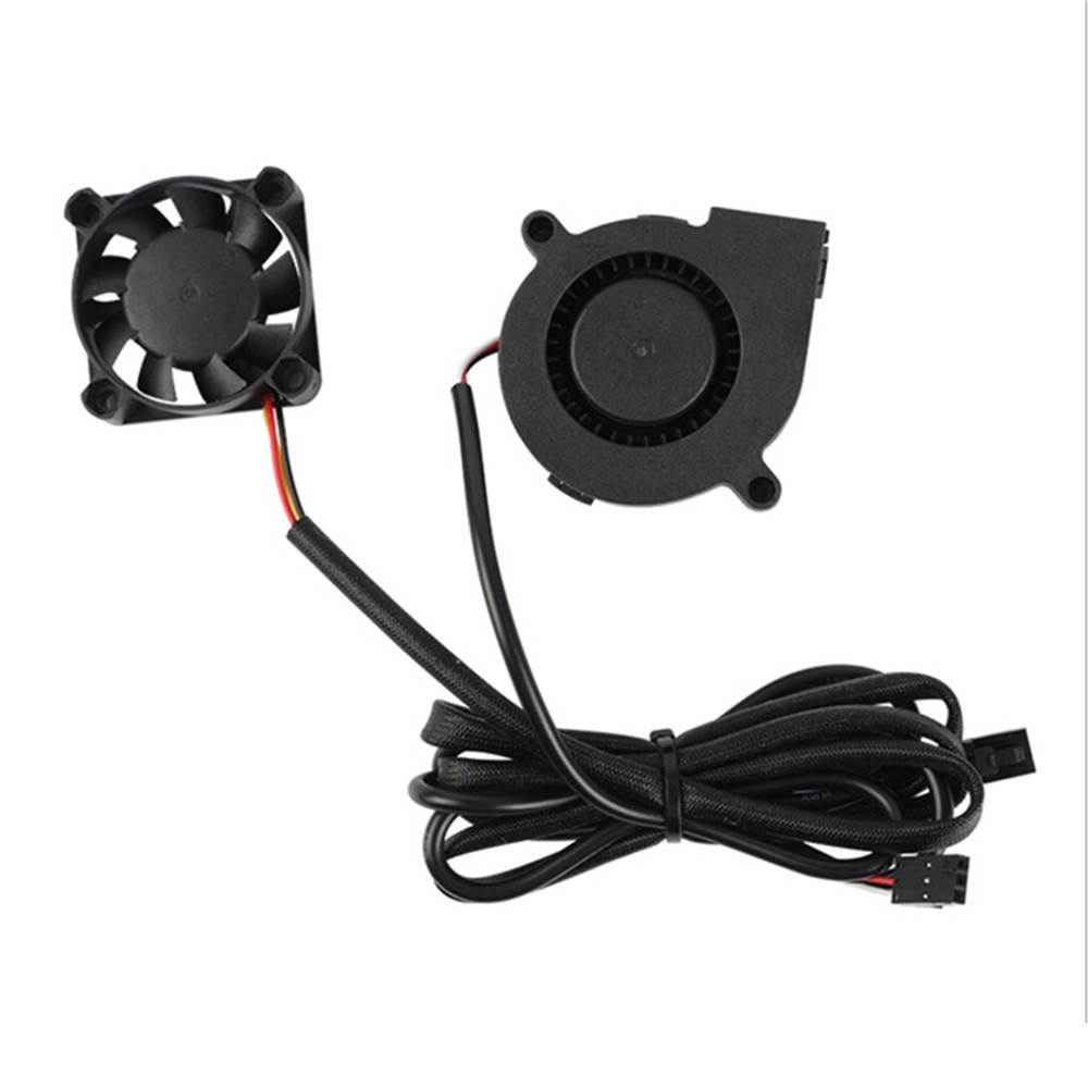 Printer Fan Turbo Fan 3-wires DC5V Fans Kit for PURSA i3 MK3 MK3S MK2/2.5 3D Printer Accessories