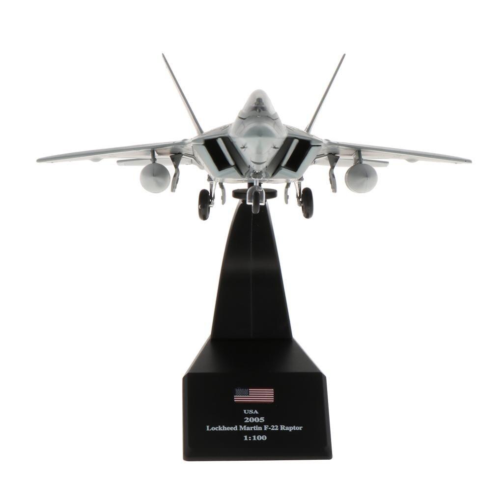 1100 escala luchador de F-22 americano Raptor avión modelo juguete modelo de avión chico regalo