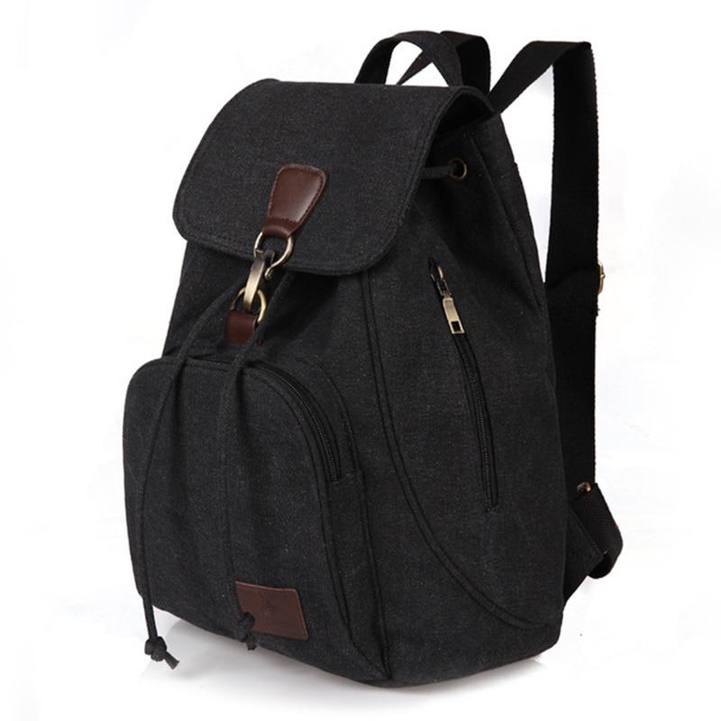 Mochilas de lona para mujer, bolso vintage para mujer, mochilas de moda para chicas adolescentes, mochilas escolares retro Para estudiantes universitarios, Mochila de tela