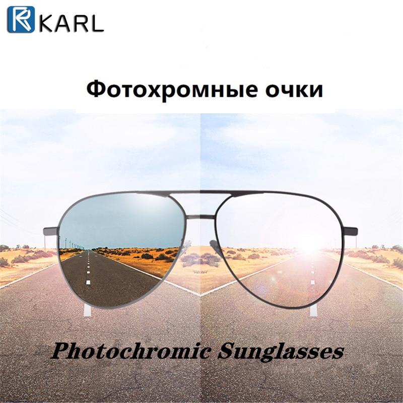 Gafas de sol polarizadas de visión diurna y nocturna, gafas de sol fotocromáticas para hombres, gafas de sol de pesca HD de marca de lujo, gafas de sol masculinas UV400
