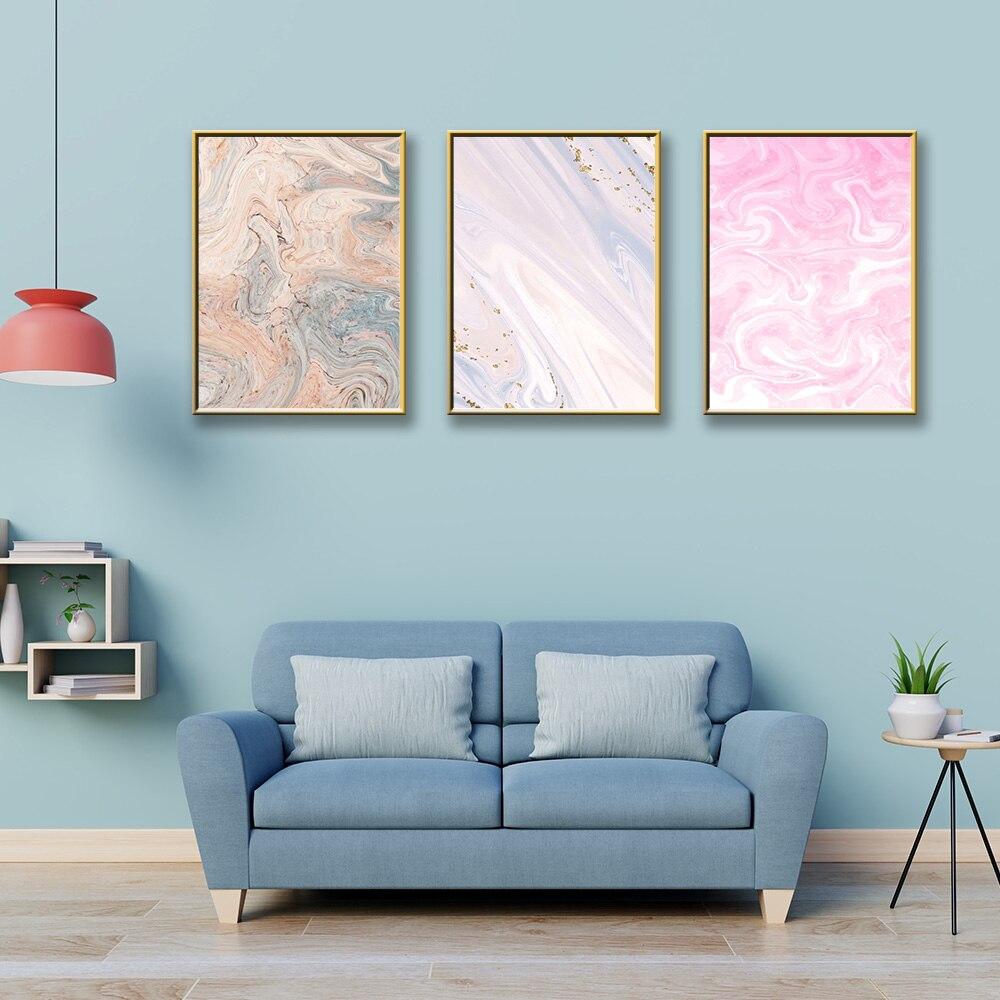 Póster sobre lienzo de estilo nórdico para pared, póster impreso para habitación...