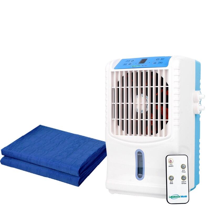 Ventilador de aire acondicionado pequeño de 3,5 l, colchón de refrigeración, ventilador de refrigeración, aire acondicionado de agua, DC12V, 1 unidad