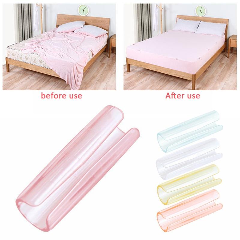 12 teile/satz Home Living Decken Blatt Clip Befestigungen Matratze Set Clamp Leuchte Slip-Beständig Bettdecke Bett Abdeckung Schnalle