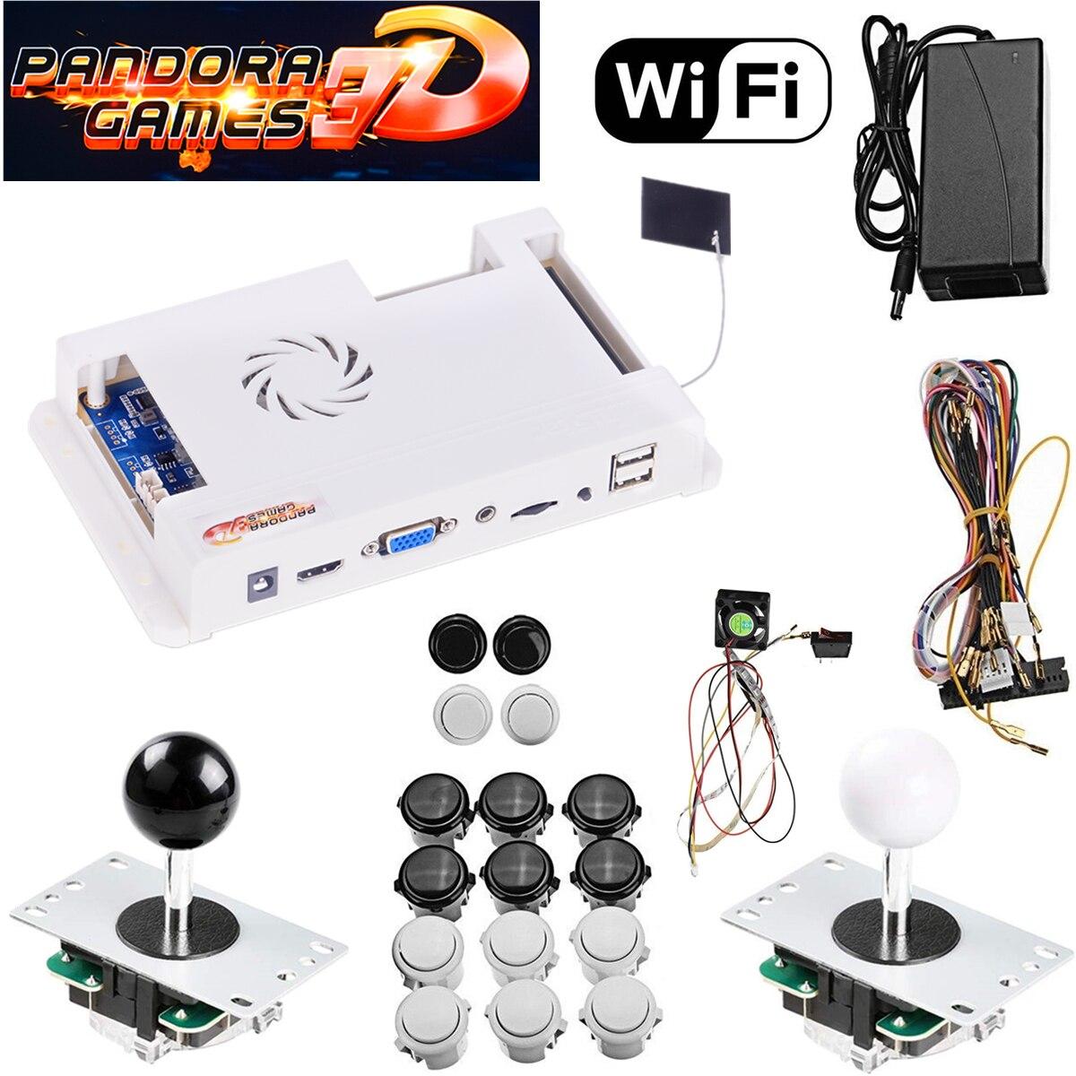 Juegos de Descarga WIFI, juegos Pandora 3D 2448 en 1, juego completo de Arcade 2D/3D, decenas de miles en el mercado de juegos integrado