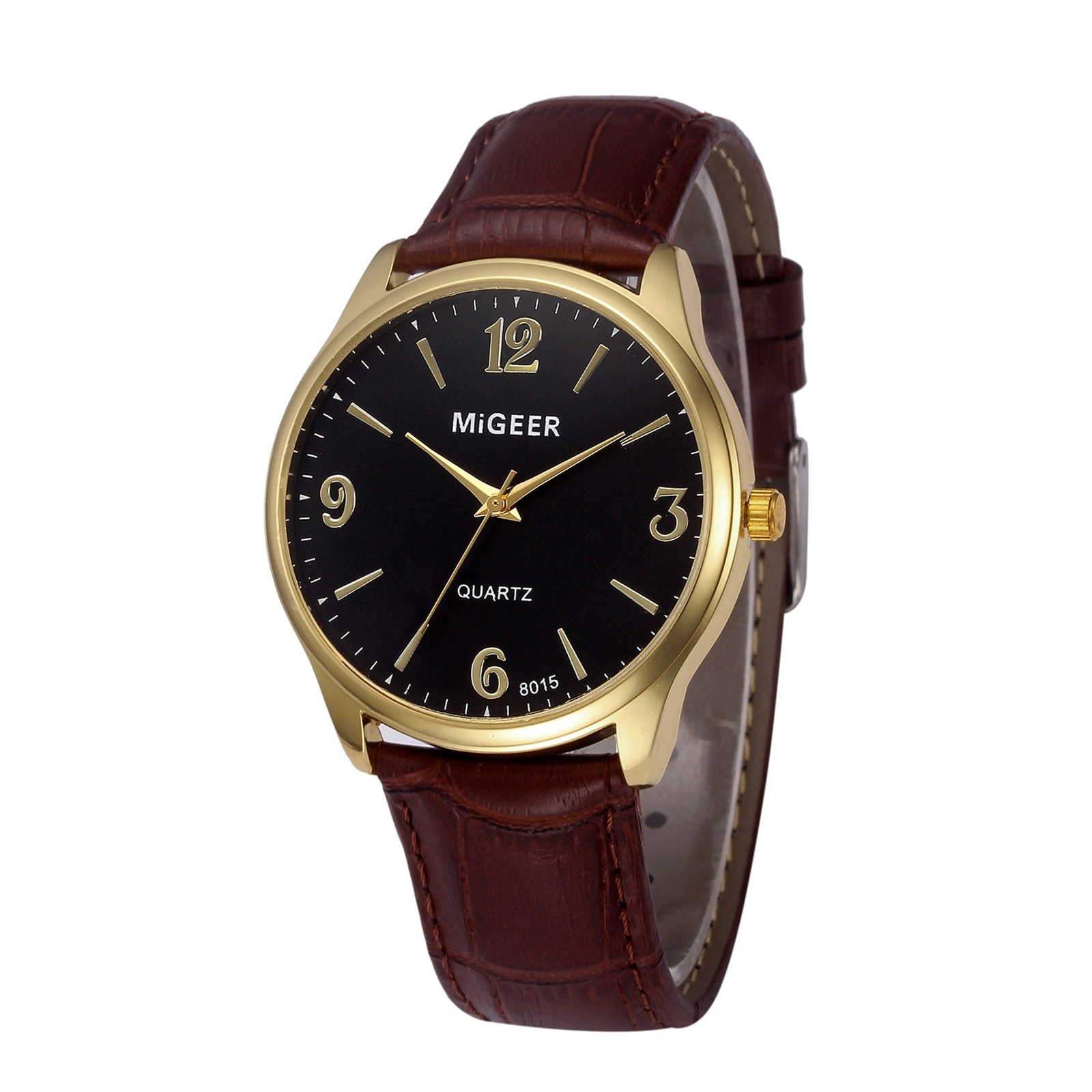 Sleek Minimalist Watches For Men Women New Arrival Unisex Watch Quartz Clock Leather Strap Quartz Wristwatch Gift Montre Homme