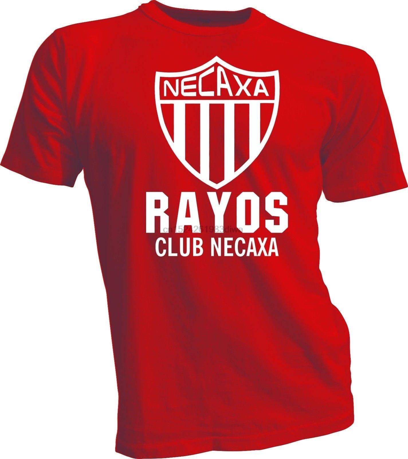 Necaxa Rayos México T camisa Camiseta Futbol fútbol Aguascalientes Hidrorayos RW