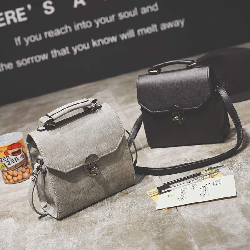 Summer New Fashion Retro Diagonal Women's Handbag Shoulder Bag Lock Small Square Crossbody Bag Small