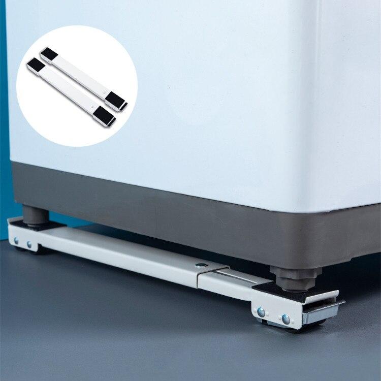 غسالة الوقوف المنقولة قابل للتعديل الثلاجة قاعدة المحمول الأسطوانة قوس 24 عجلة العالمي غسالة مجفف حامل