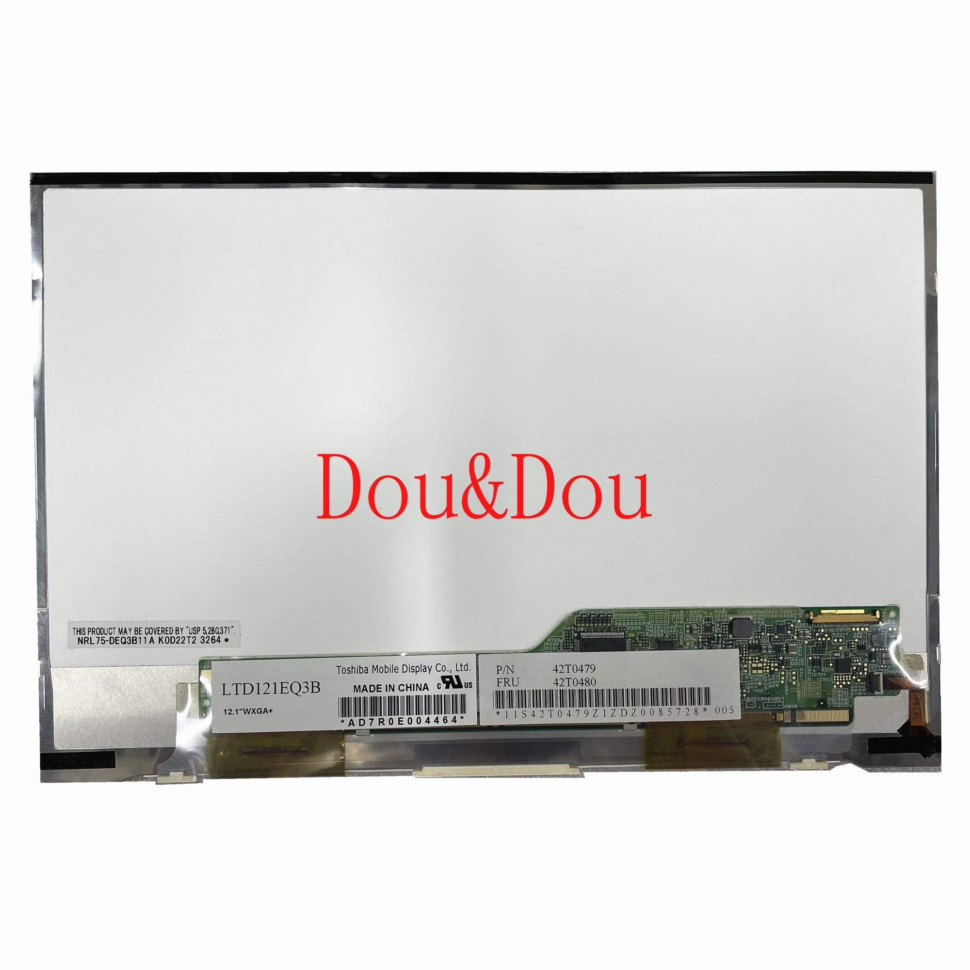 LTD121EQ3B 12.1 'لوحة شاشة LCD للكمبيوتر المحمول 1280*800 مع FRU: 42T0480