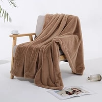 soft flannel blankets for beds faux fur mink throw warm coral fleece blanket bedding adult solid bed cover sofa bed cover