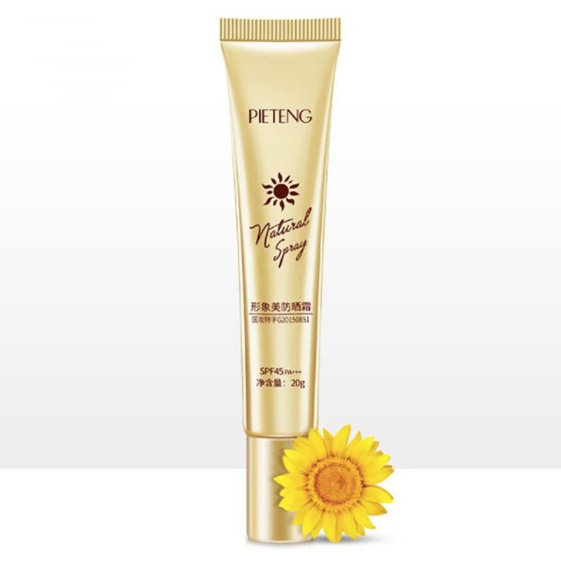 Protector solar SPF 45 para el cuerpo, crema protectora para el sol, protección solar, crema antiedad, control de aceite, protección Facial