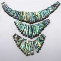 2pcslot new zealand abalone shell sleeve column 13pcs21pcs41pcs three sizes diy