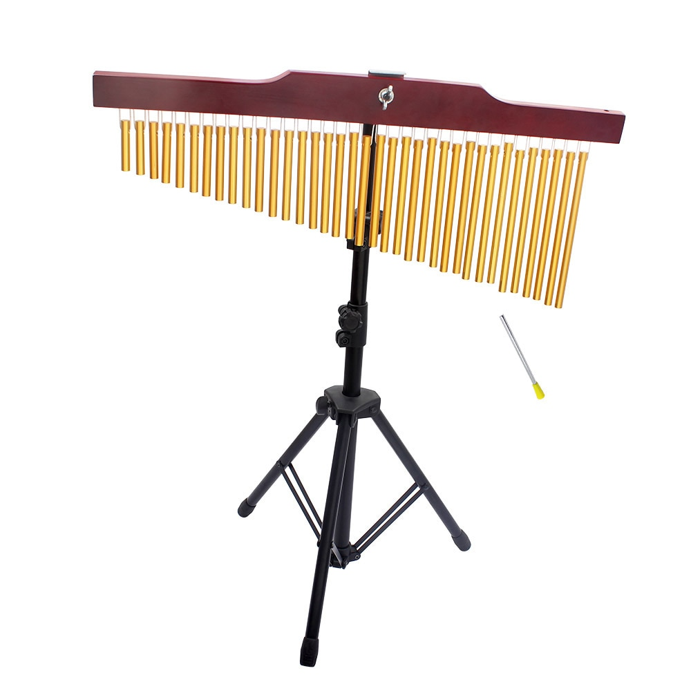 36 Tone Wind Chimes 36 Bars Single-Row Chime Percussion Instrument Musical Chime Children Toy With Tripod Stand Wind Chime Stick enlarge