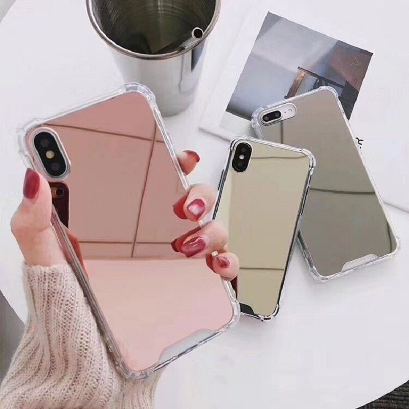 Mirror TPU Case For huawei P30/P20 Pro P30/P20 lite P30 P20 P10 P9 plus Shockproof Fundas Cover For