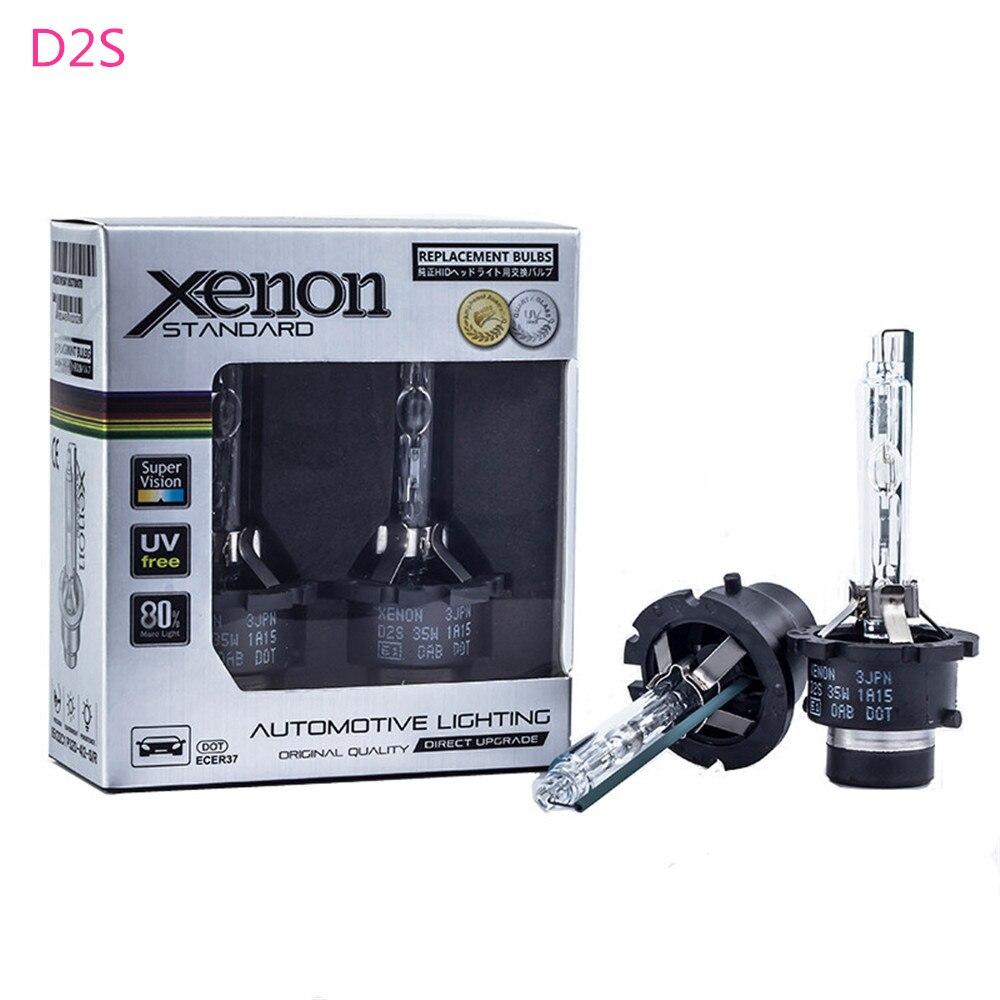 2X D2S D2R D4S D4R D1S D3S 12v 35w de luz bombilla de Xenón para Volvo V40 2013, 2014, 2015, 2016 V60 2011, 2012, 2013, 2014, 2015, 2016