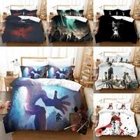 3d bedding set attack on titan duvet cover bedroom for boys adults comforter set bedclothes custom for home textiles