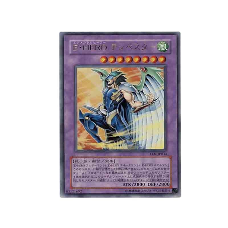 Коллекционная игра Yu Gi Oh Game King UR/UTR, элистический герой, хобби, коллекционные предметы, коллекционная игра, аниме карточка
