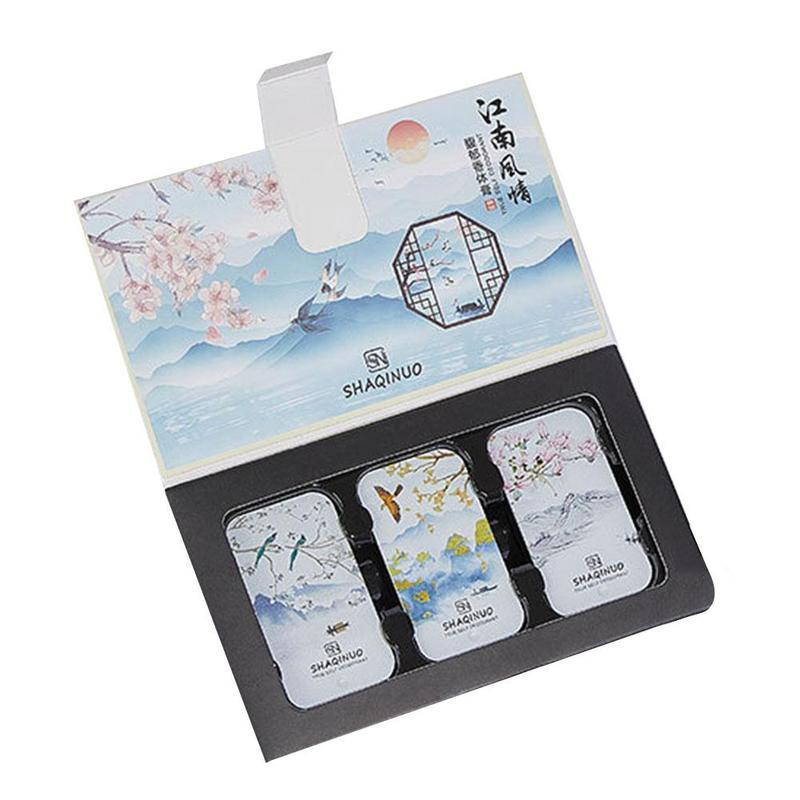 Portable Case Perfume Fragrances Women Men Balm Mild Long Lasting Aroma Deodorant Fragrance Body Antiperspirant