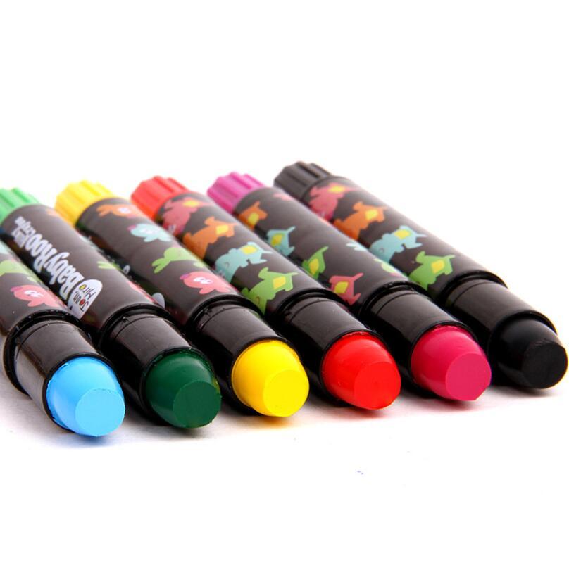 Lápices de colores Pastel lápices de colores lavables giratorios lápices de colores para niños