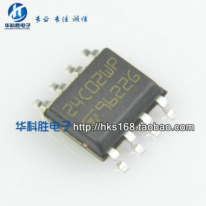 24C02WP ST24C02WP SOP-8 chip de memoria envío gratis