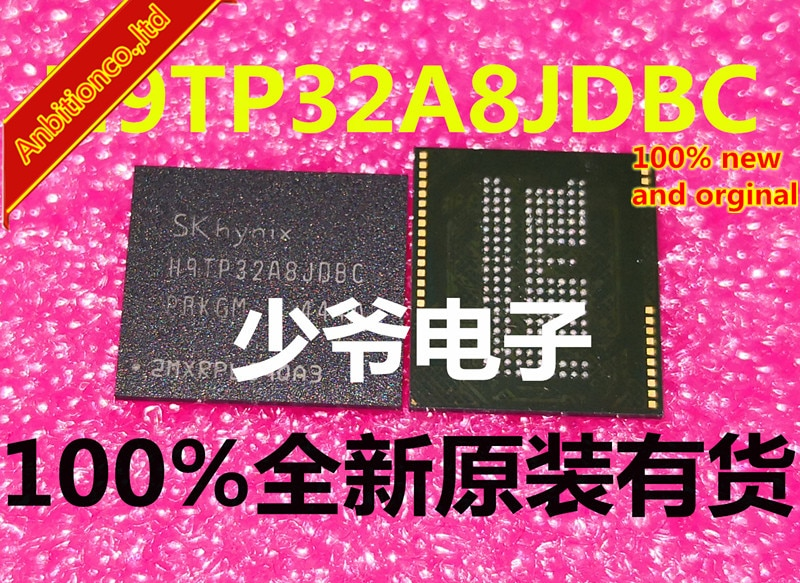 2-10pcs 100% new and orgianl  H9TP32A8JDBC H9TP32A8JDBCPR-KGM in stock