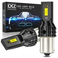 dxz 2pcs 1156 s25 ba15s p21w led 1157 t15 t20 t25 led canbus 2smd 1200lm 7440 3156 3157 car turn signal reverse brake light bulb