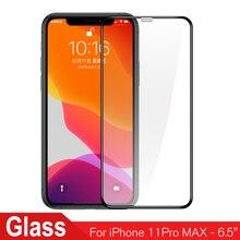 3 pièces verre de protection pour iPhone 11 12 Pro Max verre trempé pour iPhone 11 Pro Max 12 MAX 12Pro verre trempé protecteur décran