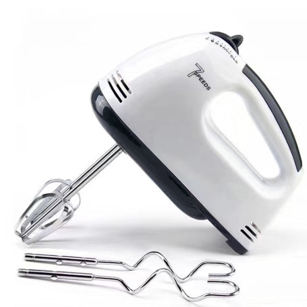 Multifunctional Mini 7 Speed Electric Handheld Mixer Egg Beater Automatic Cream Food Cake Baking Dough Mixer Food Blender