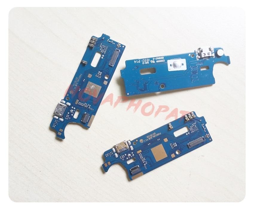 Novaphopat para Huawei Y5-2017 MYA-L02 MYA-L03 USB Dock de carga conector de puerto cargador Cable flexible de reemplazo + número de seguimiento