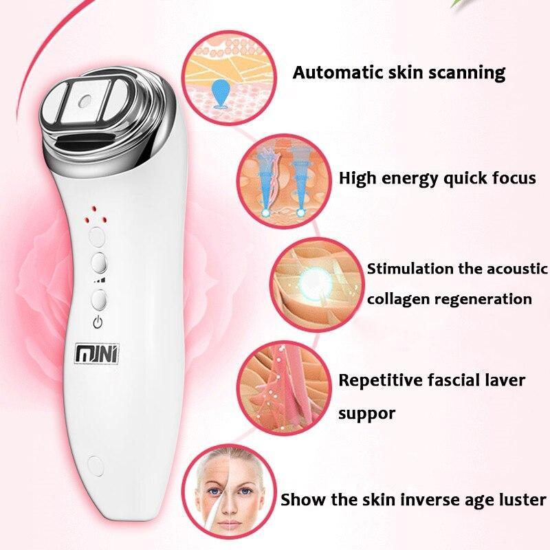 High Intensity Focused Ultrasound Skin Rejuvenation Face Care Device With Lescolton Photoepilator IPL Laser Hair Removal Machine enlarge