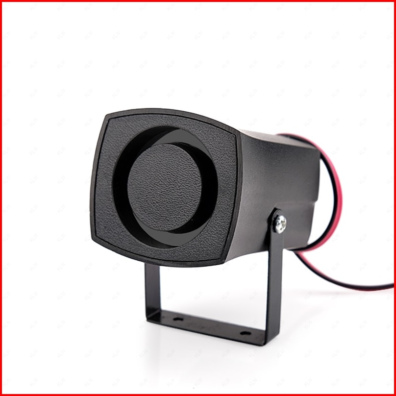 12V / 24V 120dB 6 Tone Mini Siren House Alarm Siren DC Small Car Horn Home Speaker System Reverse Backup Notice Buzzer 1set tone sound car emergency siren horn emergency amplifier hooter 12v 100w