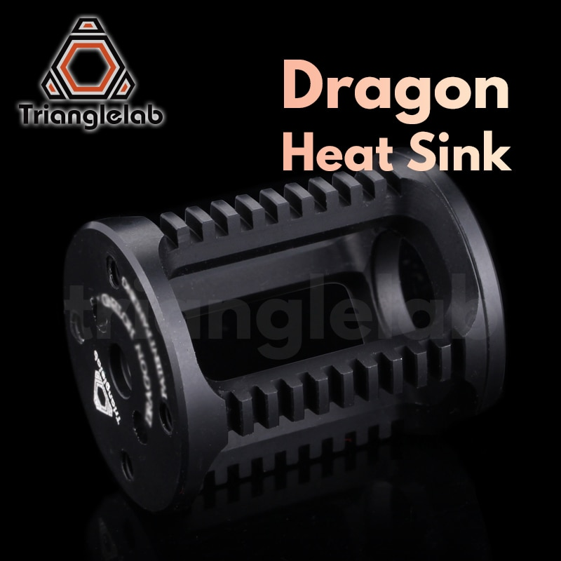 trianglelab Dragon Heat sink(Dragon heatsink) for Dragon Hotend repair parts High temperature hotend dragon