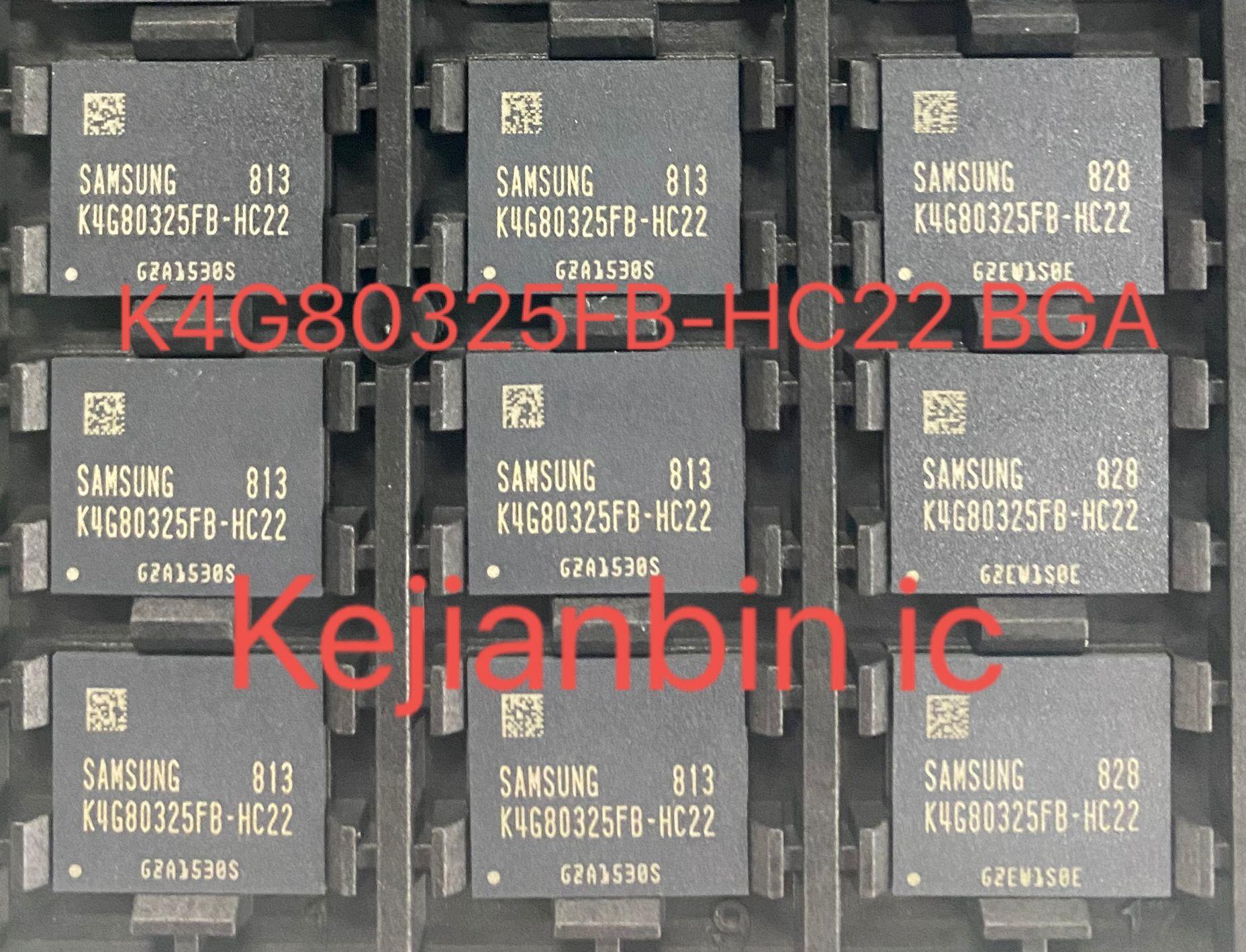 1 قطعة K4G80325FB K4G80325FB-HC22 بغا K4G80325FBHC22 العلامة التجارية الجديدة الأصلي شحن مجاني