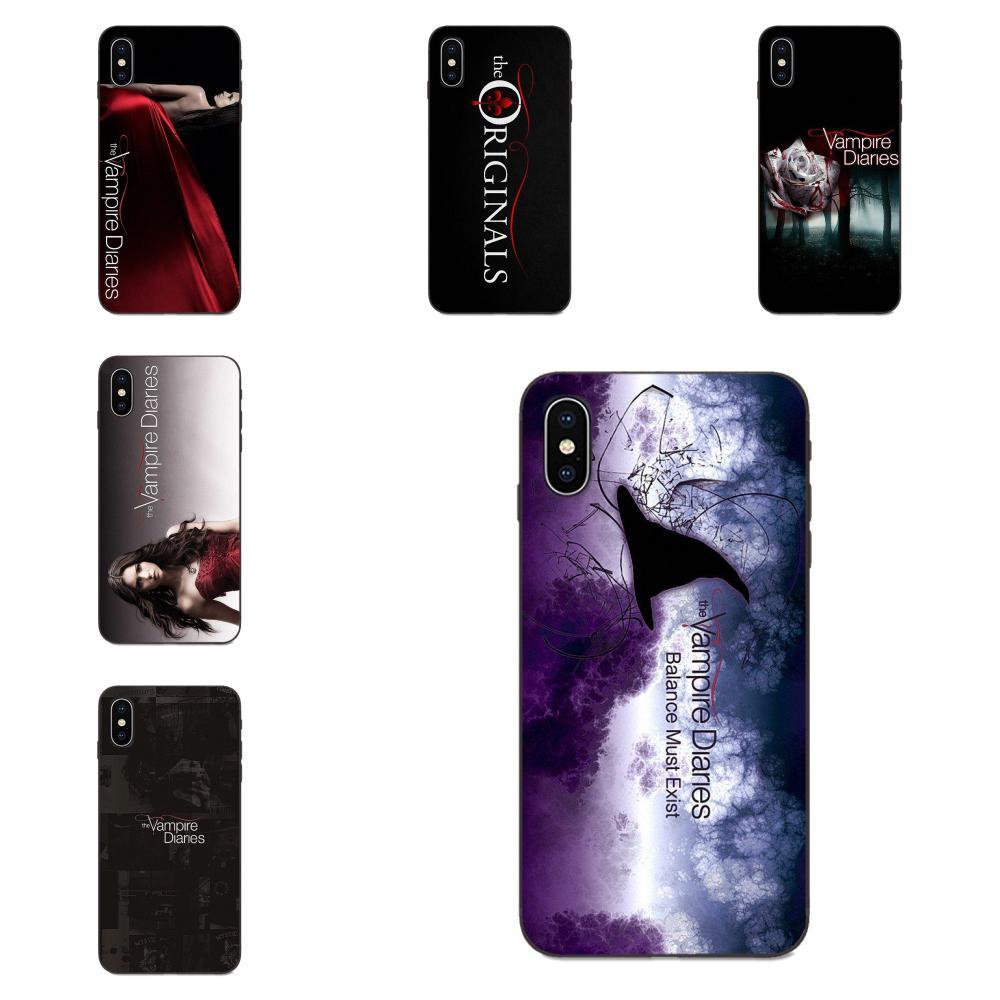 Funda de teléfono blanda con citas populares de The Vampire Diaries para Xiaomi Redmi Note 3 3S 4 4A 4X 5 5A 6 6A 7 7A K20 Plus Pro S2 Y2 Y3