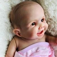 boutique bebe reborn simulation baby dolls 20 inch full silicone vinyl reborn baby girl doll rebirth infant doll gift