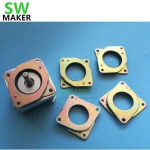 5pcs Nema 17 stepper motor Vibration Damper shock absorber 42 step motor thickness 6MM hole angle 41.4mm for creality Ender-3 pro 3d printer parts