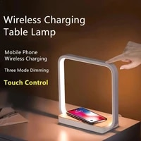 wireless charging bedside lamp table lamp bedroom simple lam desk nordic modern table small creative protection led learnin o2t5