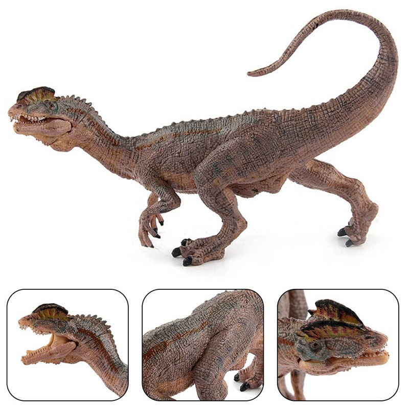Educational Dinosaur Toys For Children Realistic Solid Velociraptor Models Lifelike Running Velociraptor Figures Kids Toys Gifts lifelike dinosaur model static solid mosasaurus dinosaur realistic figures perfect toys decoration for party favor kid toy gift