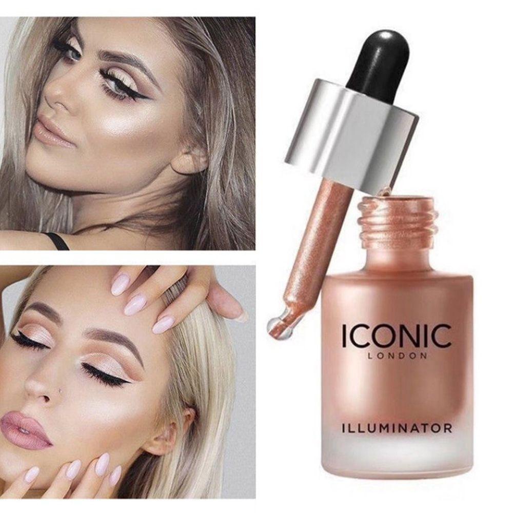 1Pcs Makeup Highlighter Illuminator Contouring Makeup Face Brightener Concealer Liquid Highlighter Primer Face Glow Cosmetics недорого