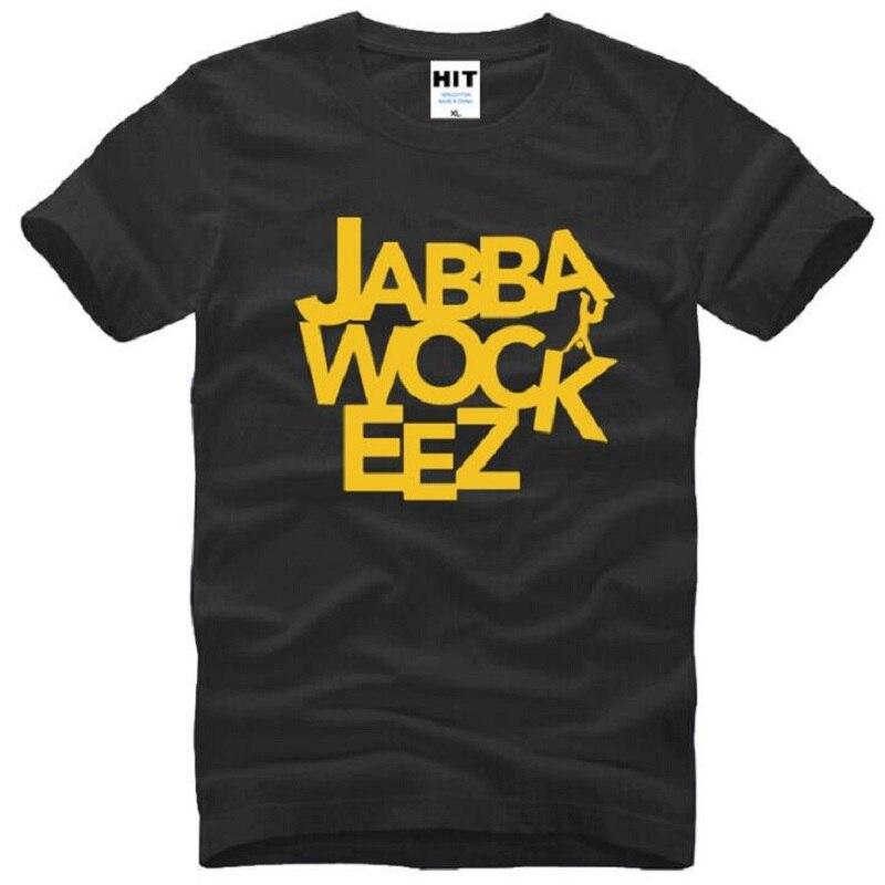 Jabbawockeez, camiseta estampada con letras para hombres, ropa famosa, camisetas de algodón de manga corta de Hip Hop, camisetas de baile callejero, camisetas para hombres, camiseta superior