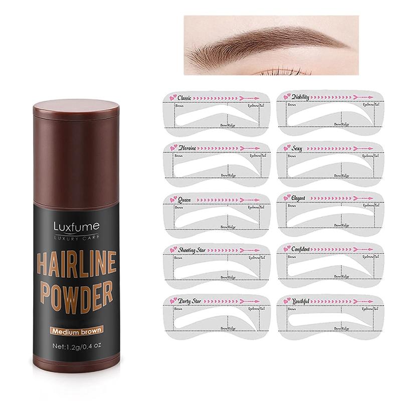 EyeBrow Makeup Shaping Kit Eyebrow Stencils Waterproof Long Stick Shape Brow Lasting Natural Contour